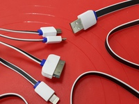 USB кабель 4в1 LP/ Apple.Micro USB,Mini USB.
