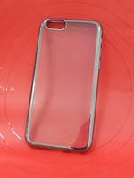 Силиконовый чехол для iPhone 6/6S Черный