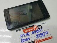 Мобильный телефон Fly IQ 4490i Dual Sim Черный