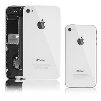 Панель задняя (крышка АКБ) Apple iPhone 4S белый