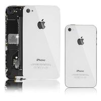 Панель задняя (крышка АКБ) Apple iPhone 4G белая