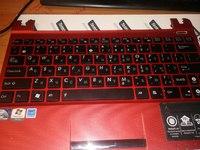 Клавиатура с панелью для Asus x101