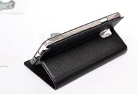 Чехол-книжка ICASETEC, Samsung N9000 Note 3 Note3-010 кожа, черный