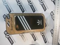 Чехол для iphone5-5s адидас черный