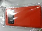 Чехол-книжка для Samsung Galaxy S4 оранжевый