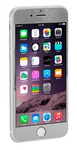Защитное стекло алюминий+стекло для Iphone 6 Plus Silver