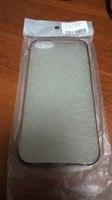Чехол-накладка Ultra Slim Apple iPhone 5/5s акрил, темный