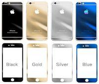 Защитное стекло CaseGuru зеркальное Front & Back для Apple iPhone 4,4S Rose Gold 0,33мм Logo OEM