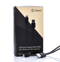 Кабель USB-Lightning Large Wire для iphone 5-5s-6 и ipad 3-4