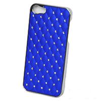 Чехол-накладка со стразами и каретной стяжкой iPhone 4