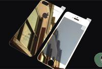 Защитное стекло CaseGuru зеркальное Front & Back для Apple iPhone 5, 5S Gold 0,33мм A OEM