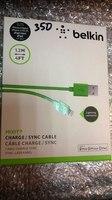 USB кабель Apple 8pin зеленый Belkin