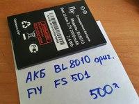 Аккумуляторная батарея для Fly FS501 BL8010 оригинал