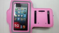 Спортивный держатель наручный iPhone 5 Розовый