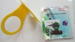 Держатель для телефона настенный для зарядки Желтый