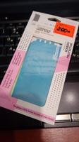 Цветная наклейка на iPhone 4/4s Голубая