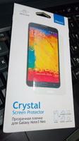 Защитная пленка для Samsung Galaxy Note3 Neo прозрачная DEPPA