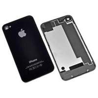 Панель задняя (крышка АКБ) Apple iPhone 4S черный