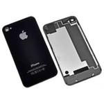 Панель задняя (крышка АКБ) Apple iPhone 4G чёрная