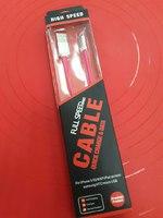 "USB Дата-кабель ""Cable"" Apple 8 pin плоский мягкий силикон 1 м."