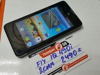 Мобильный телефон Fly IQ490i Dual Sim Черный