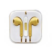 Гарнитура для iPhone/iPod (цвет-золото)