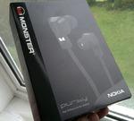 Гарнитура Monster Nokia Purity WH-920 (черный/коробка)