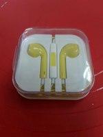Гарнитура для iPhone/iPod и совместимые (желтая)