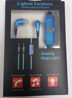 Наушники светящиеся с LED подсветкой Blue