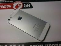 Корпус оригинальный со всеми шлейфами iphone 5s белый