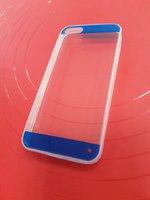 Чехол-накладка для Apple iPhone 5/5S силикон прозрачный