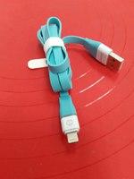 USB LED кабель передачи данных Zetton Flat разъем Apple 8 pin