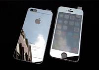 Защитное стекло CaseGuru зеркальное Front & Back для Apple iPhone 6, 6S Plus Silver 0,33мм Logo OEM