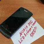 LCD в сборе с тачскрином для Nokia 700